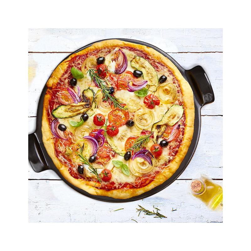 Pietra per pizza Emile Henry - diametro 36,5 cm - nero 6