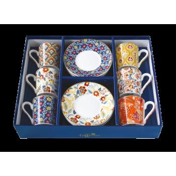 Set 6 tazzine gift box...