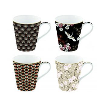 Set 4 mug gift box Coffee...