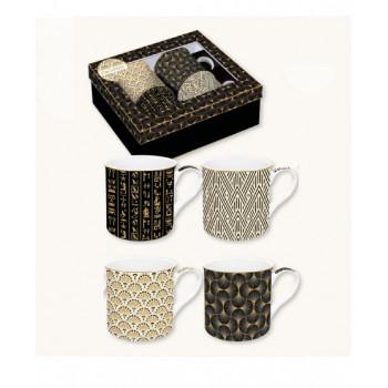 Set 4 mug gift box Atmosp....