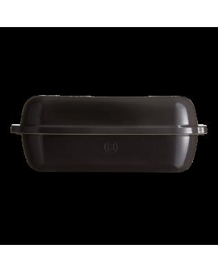 Stampo maxi per pane in cassetta Emile Henry - lunghezza 39 cm - nero  copert