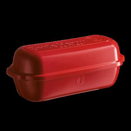 Stampo maxi per pane in cassetta Emile Henry - lunghezza 39 cm - grand cru rosso 3