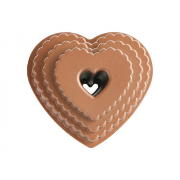 Stampo Bundt Tiered Heart...