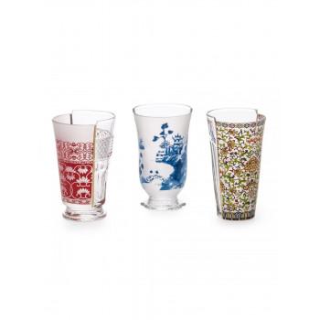 Hybrid set 3 bicchieri...