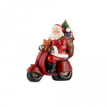 Babbo Natale con scooter...