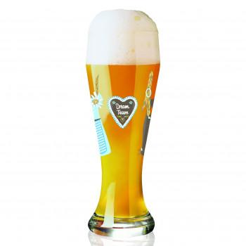 Bicchiere birra Weizen Kurz...