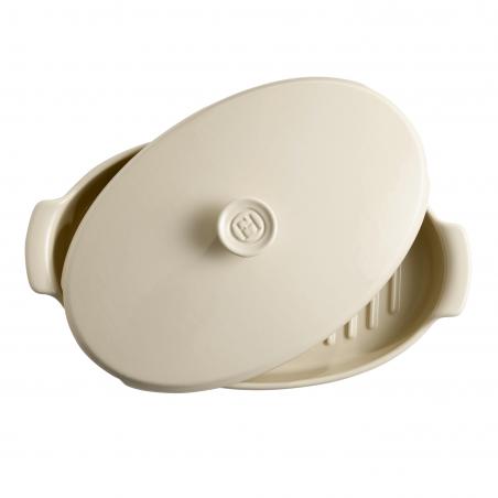 Papillote Emile Henry - teglia in ceramica per cottura al cartoccio - beige 1
