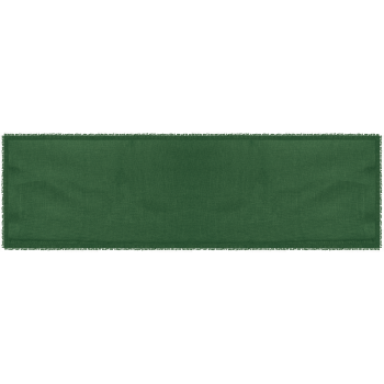Runner tinta unita verde...