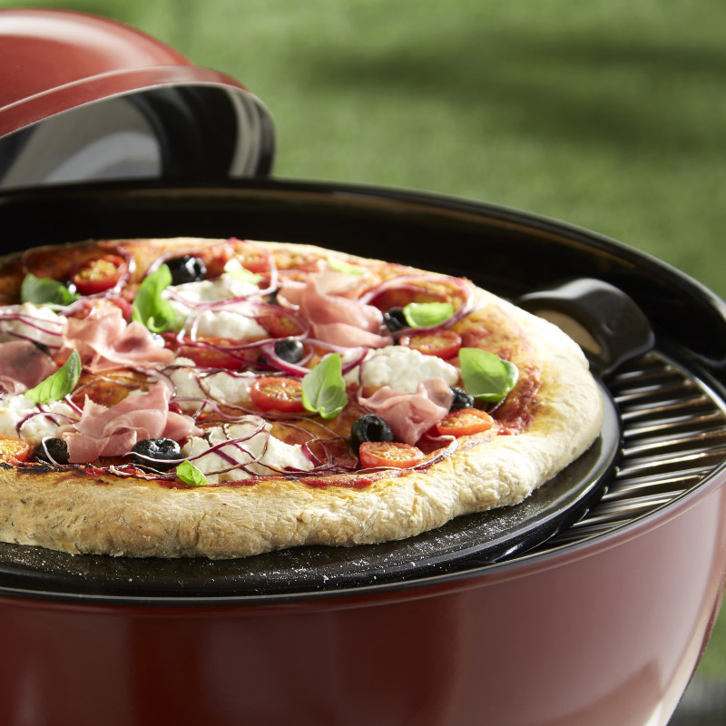 Pietra per pizza Emile Henry - diametro 36,5 cm - nero 3